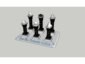 The Six Platonic Solids