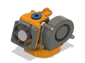 CR10 E3D v6 CFD optimized cooling duct v1.2