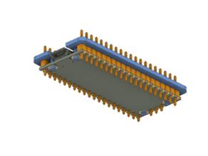 Raspberry Pi Pico - Pin Header Solder Helper