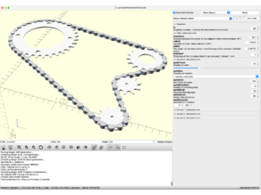 Parameterized Sprockets & Chains