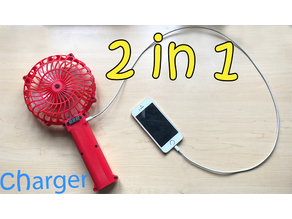 handheld fan 2 in 1 Super convenient
