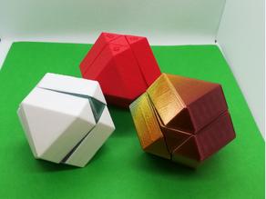 Cuboctahedron Puzzle, Cube Puzzle