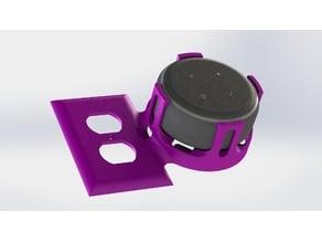 Echo Dot 3rd Gen Outlet Cover Holder