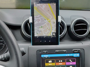 Duster dashboard tablet