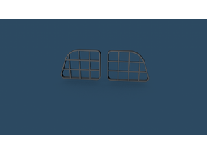 ZIL 131 HeadLight 1/16 scale Right and Left
