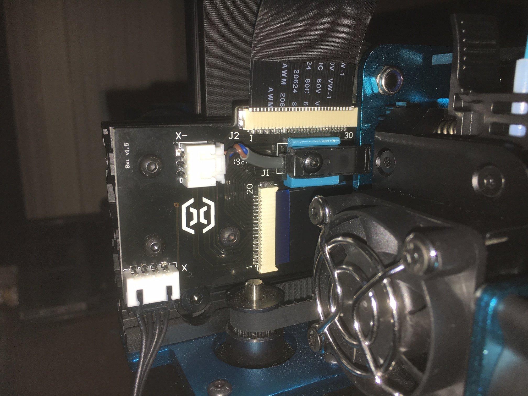 Artillery Sidewinder X1 Sensor mounts