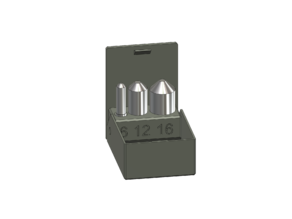 Deburring drill bits box (chamfering tools)