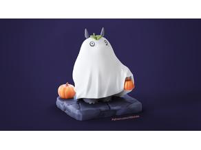 Halloween my neighbor totoro