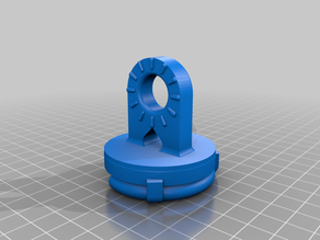 Pop-Socket mount for articulated arm