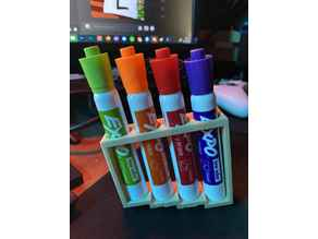 Magnetic Dry-erase Marker Holder
