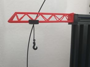 Filament guide crane