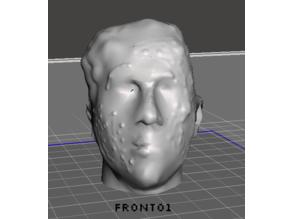 Realistic Zombie Head