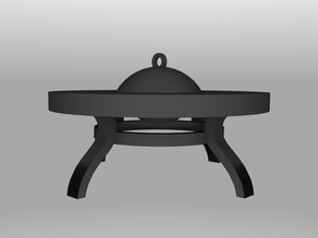 Fire Pit - Possible 28mm Gaming Prop