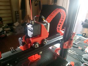 Drivinator for Bondtech (BMG) extruder + cable chain mount