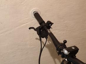 Bicycle handlebar wall stand