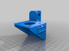 CR-10 / Ender 3 Direct Drivinator - for Hero Me fan duct
