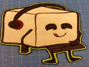 Chibi Sugar Cube patch