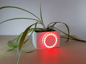 Connected flowerpot by microbit