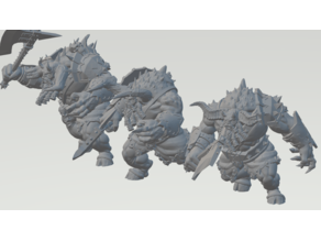 Chaos Dwarf Minotaurs / Kadim Incarnates - Remix
