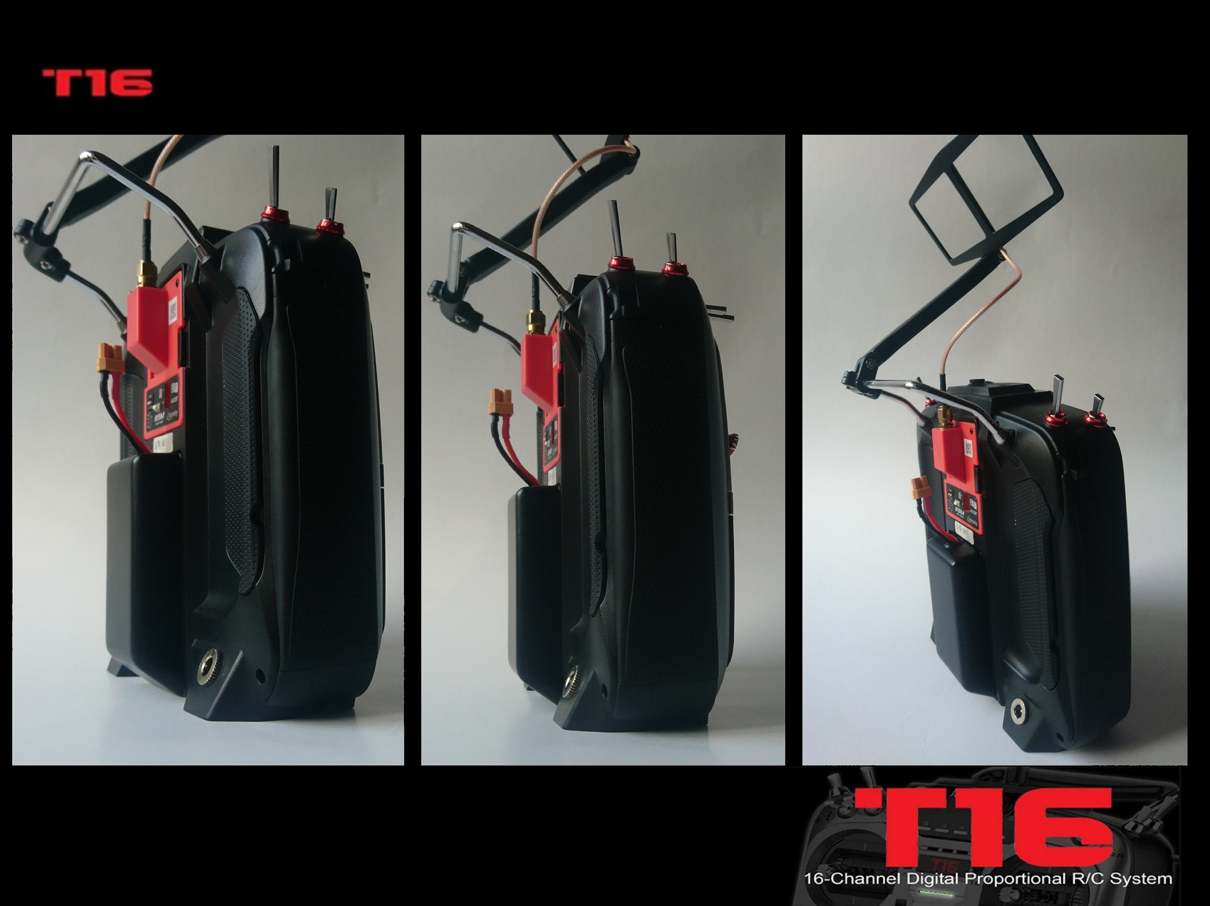 T16 Extended Battery Case R9M