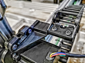 OX CNC - drag chain mount - workbee openbuild