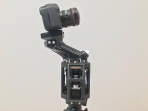 HDRI Sphere capture robot for canon 5D mark II