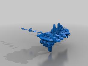 chaos fleet - echo ships