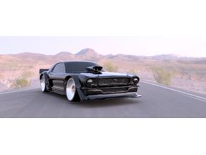Hoonicorn for OpenZ Drift V5 98mm wheelbase.