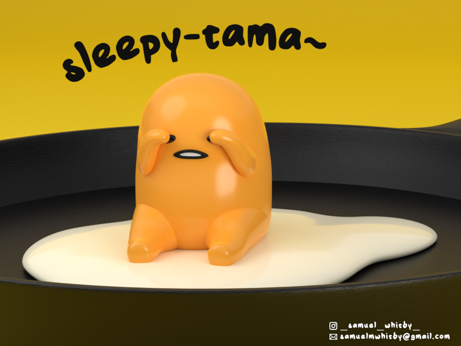 Sleepy-tama - Gudetama ぐでたま