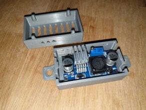 LM2596 HW-411 Buck Converter (with heatsink) enclosure