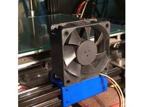 Customizable bed cooler fan