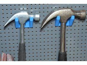 Biltema Pegboard Hammer Holder