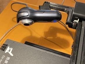Ender 3 camera mount for Logitech Quickcam Fusion
