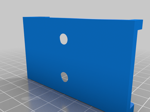 Skadis Pegboard Support Bracket - With M6 Countersunk Holes