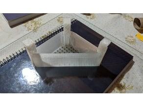 Triangular sink filter