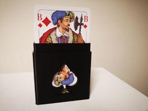 Playing card case for 2 decks (91mmx59mm)