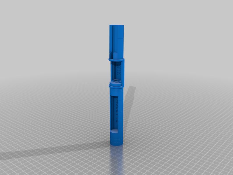 Lightsaber Chassis for 7 Chambers Sith Acolyte TOR