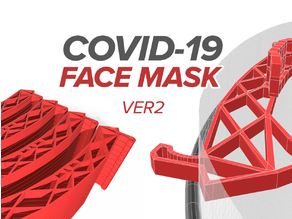 Covid-19 Face Shield - Print in just 21 minutes