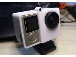 Cover GoPro Hero 3/4 with backpack display