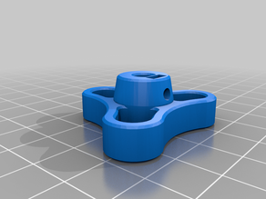 Extruder Knob with M3 nut space