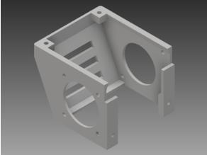 Anycubic I3 Mega Hotend Cover - Angled Led