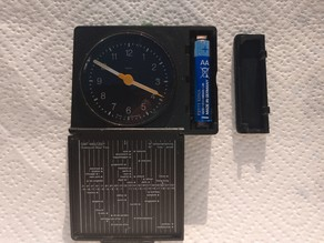 Braun AB312 Alarm-Clock Battery Cover