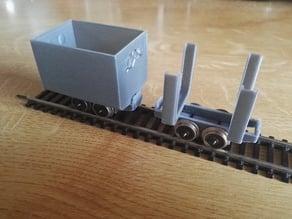 Mine trolley (1:32)
