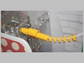 Updated coupler (Version 08) - M10 thread standard bowden extruder coolend coupler for Martusha Filament System
