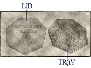 Necromancer Dice Tray Lid for the Kaer Rune Design's Necromancer's Tray (READ DESCRIPTION)