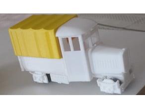 Vintage Rail truck - Funny look. Train O scale narrow gauge 16.5