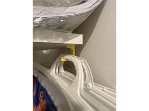Shelf-Hook Typ5 for 19mm Boards (P-SLOT system)