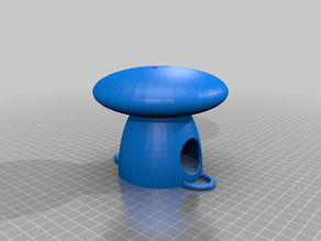 Birdhouse round - easy to print