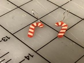 CandyCane Earrings