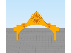 Decorative Archway for Pegasus Hobby Sets
